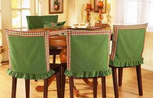 Conseils pour coudre les housses de chaises, conseils utiles pour les femmes à l'aiguille