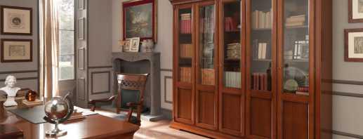 Quels devraient être les meubles pour la bibliothèque à domicile, aspects spécifiques