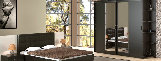 Modèles d'armoires modulaires dans la chambre, qui sont mieux