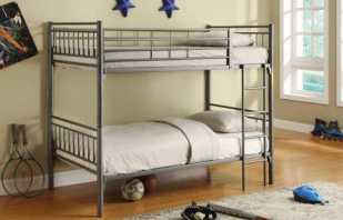 Caractéristiques d'un lit superposé en métal, sa sélection et son placement