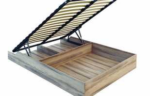 Instructions détaillées pour l'assemblage des lits avec un mécanisme de levage, conseils vidéo de professionnels