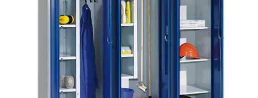Options pour les armoires d'inventaire en métal, conseils de sélection