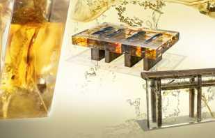 Caractéristiques des meubles en résine époxy, un aperçu des modèles