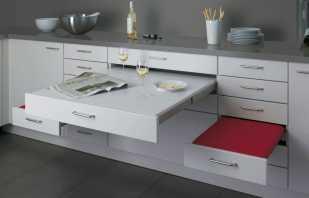 Avantages des meubles non standard, solutions intérieures inhabituelles