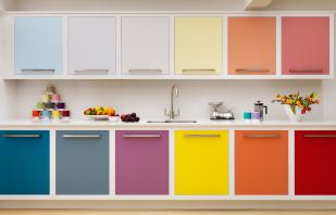Quels types de couleurs de meubles existent, des photos avec leurs noms