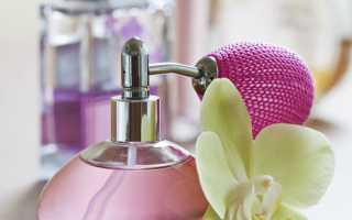 Parfums pour la maison dans le salon