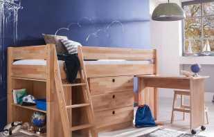 Comprend des lits mezzanine avec un espace de travail, des options populaires