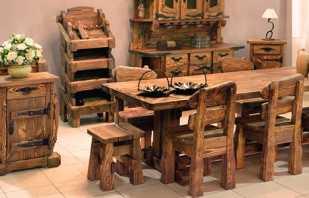 Caractéristiques des meubles brossés, les nuances de choix