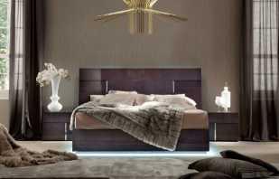 Raisons de la popularité des lits italiens modernes, aperçu des produits