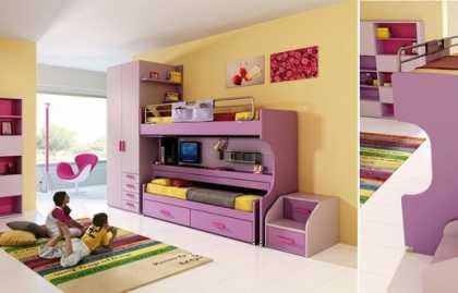 Transformateurs de lits superposés modernes, types de conceptions