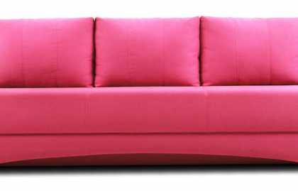 Caractéristiques de placer un canapé rose, une combinaison avec différents styles