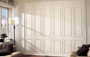 Options de portes pour armoires encastrées, critères de sélection