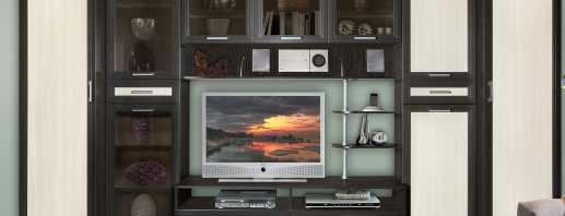 Options de meuble TV, présentation du modèle
