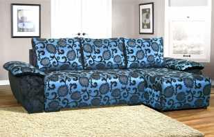 Quel tissu d'ameublement est préférable de choisir pour un canapé, types populaires