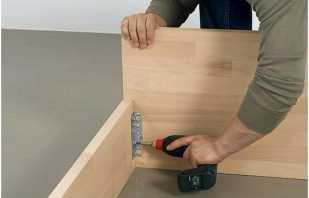 Fabrication de meubles à faire soi-même à partir de panneaux de particules, instructions détaillées