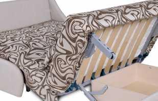 Instructions détaillées pour assembler et démonter un canapé accordéon