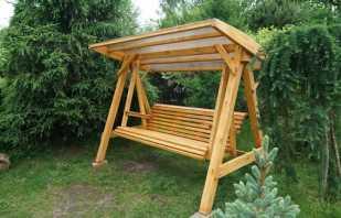 Variétés de balançoires en bois, conseils de fabrication de bricolage