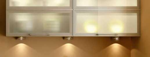 Caractéristiques des luminaires LED pour meubles, aperçu du modèle
