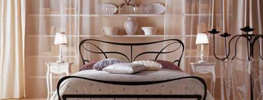 Quels sont les beaux lits en métal d'Italie, leurs caractéristiques