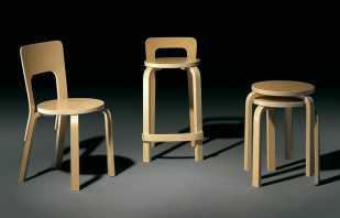 Algorithme de fabrication de bricolage pour différents modèles de chaises en contreplaqué