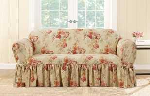Instructions étape par étape pour coudre une housse sur un canapé de vos propres mains