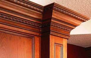 Quels sont les moulures de meubles, leur utilisation pour la décoration