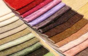 Types de tissus d'ameublement pour meubles, un aperçu des options