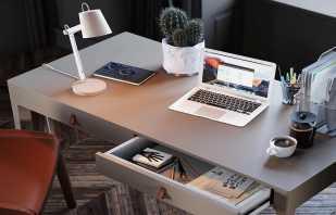 Une variété de comptoirs pour un bureau, leurs caractéristiques
