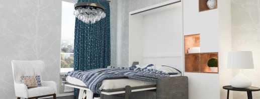 Caractéristiques de fonctionnement des lits intégrés dans le placard, types de conceptions