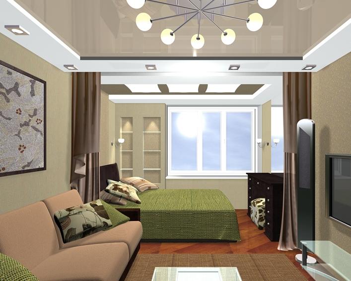 Créez correctement un agencement asymétrique de meubles dans le salon