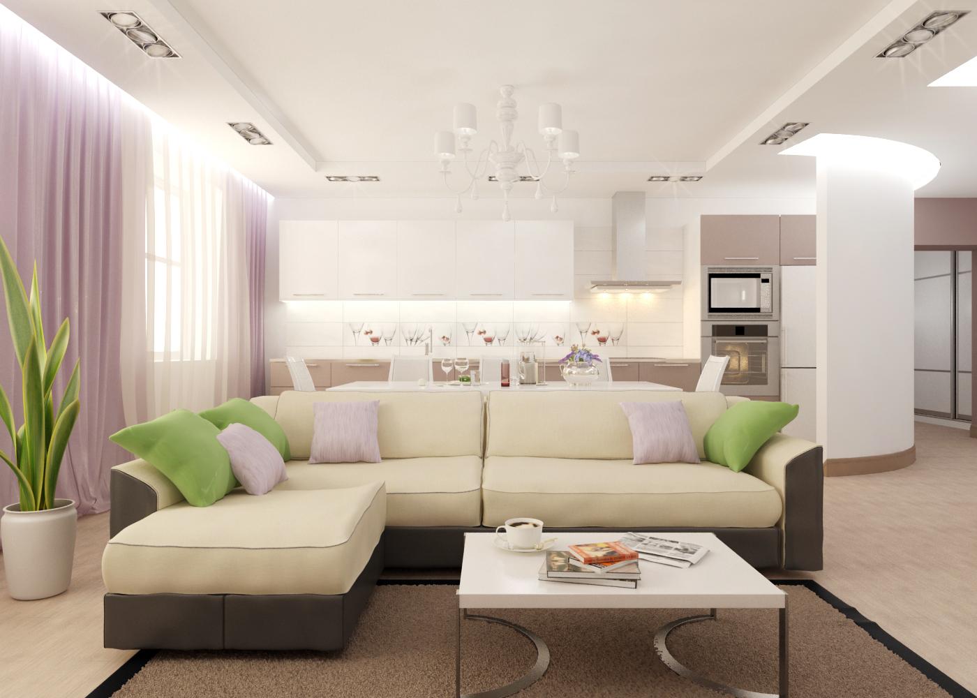 Un exemple de placement de meubles dans le salon