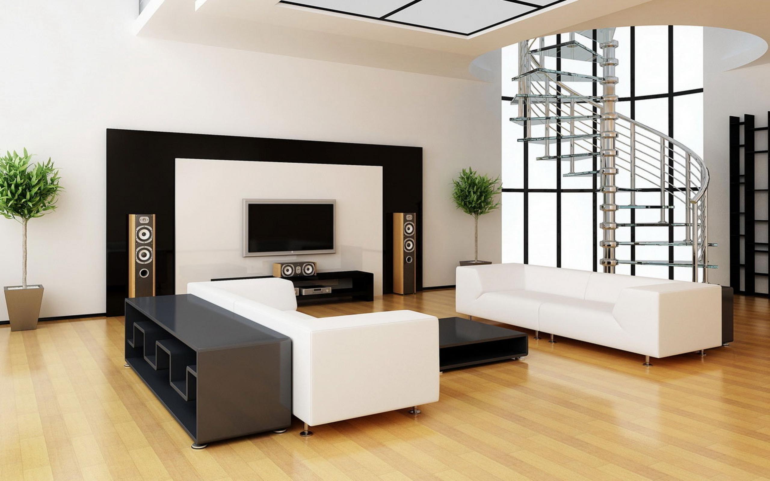 Salon symétrique élégant