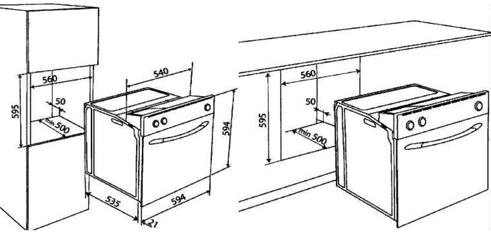 Dessin de meubles de cuisine