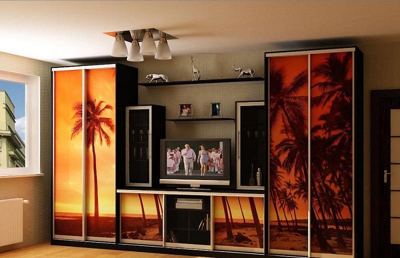 Impression photo sur armoires