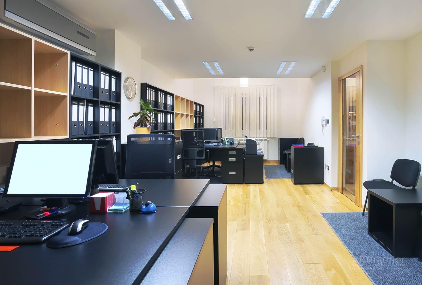 Conception et ergonomie de bureaux 3D