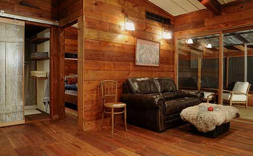 Cottage avec un intérieur agréable