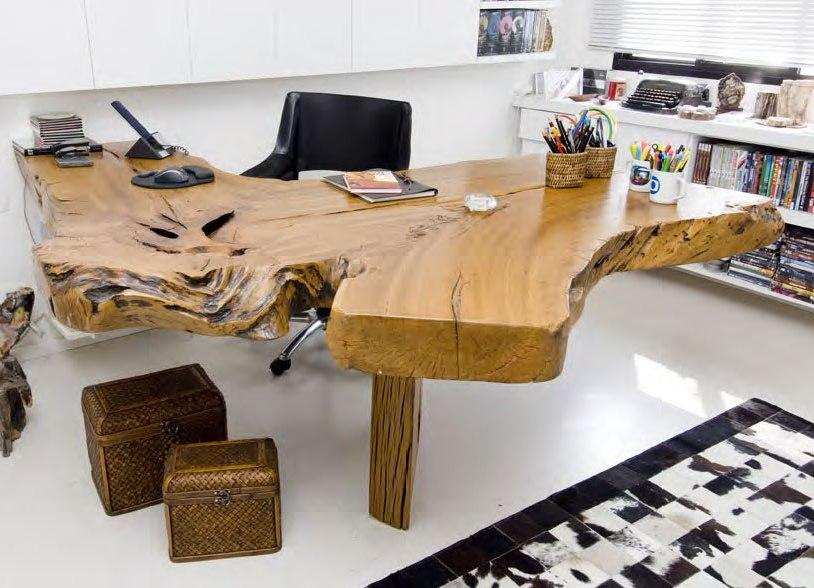 Meubles en bois avec des éléments de conception