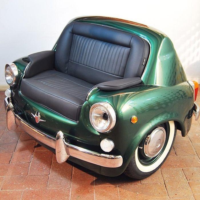 Meubles design de voitures