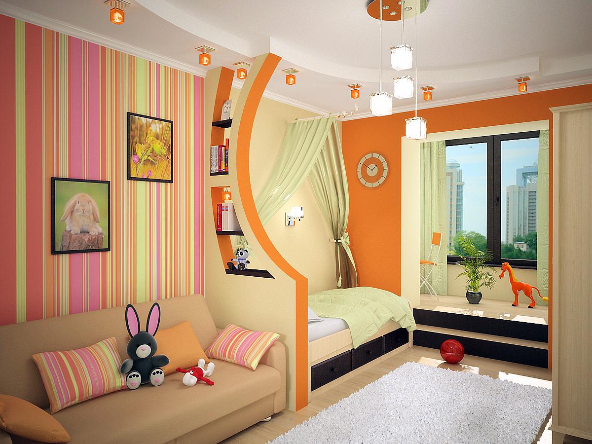 Photo du design de la chambre des enfants