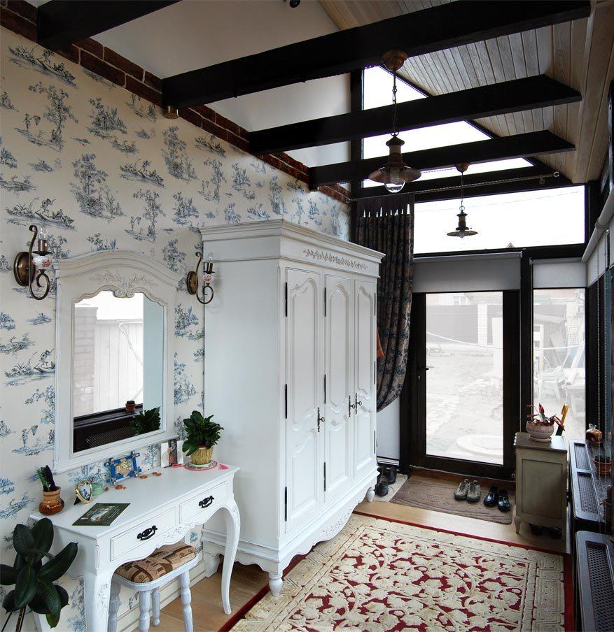 Photo d'un intérieur moderne d'une petite pièce