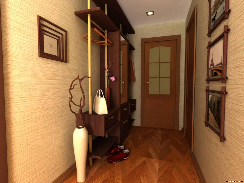 Couloir avec murs décorés