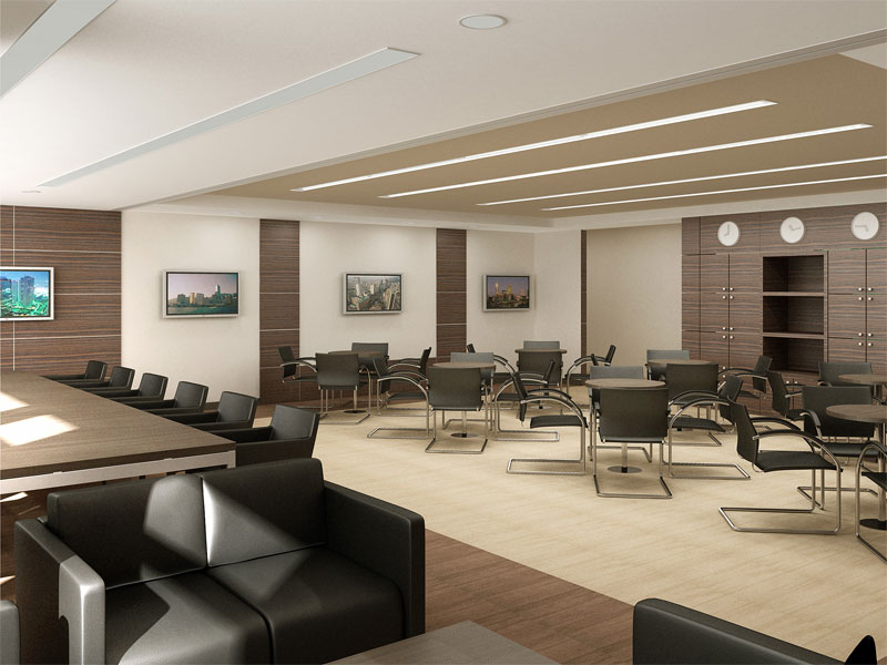Bureau dans un intérieur classique