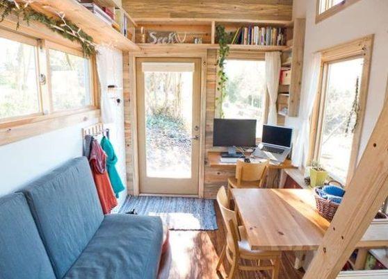 Faire une petite pièce dans une maison de campagne