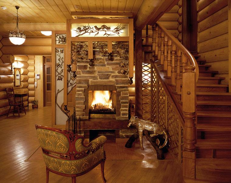 L'utilisation du bois à l'intérieur de la maison