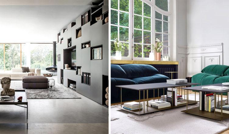 Exemples de salon au design moderne