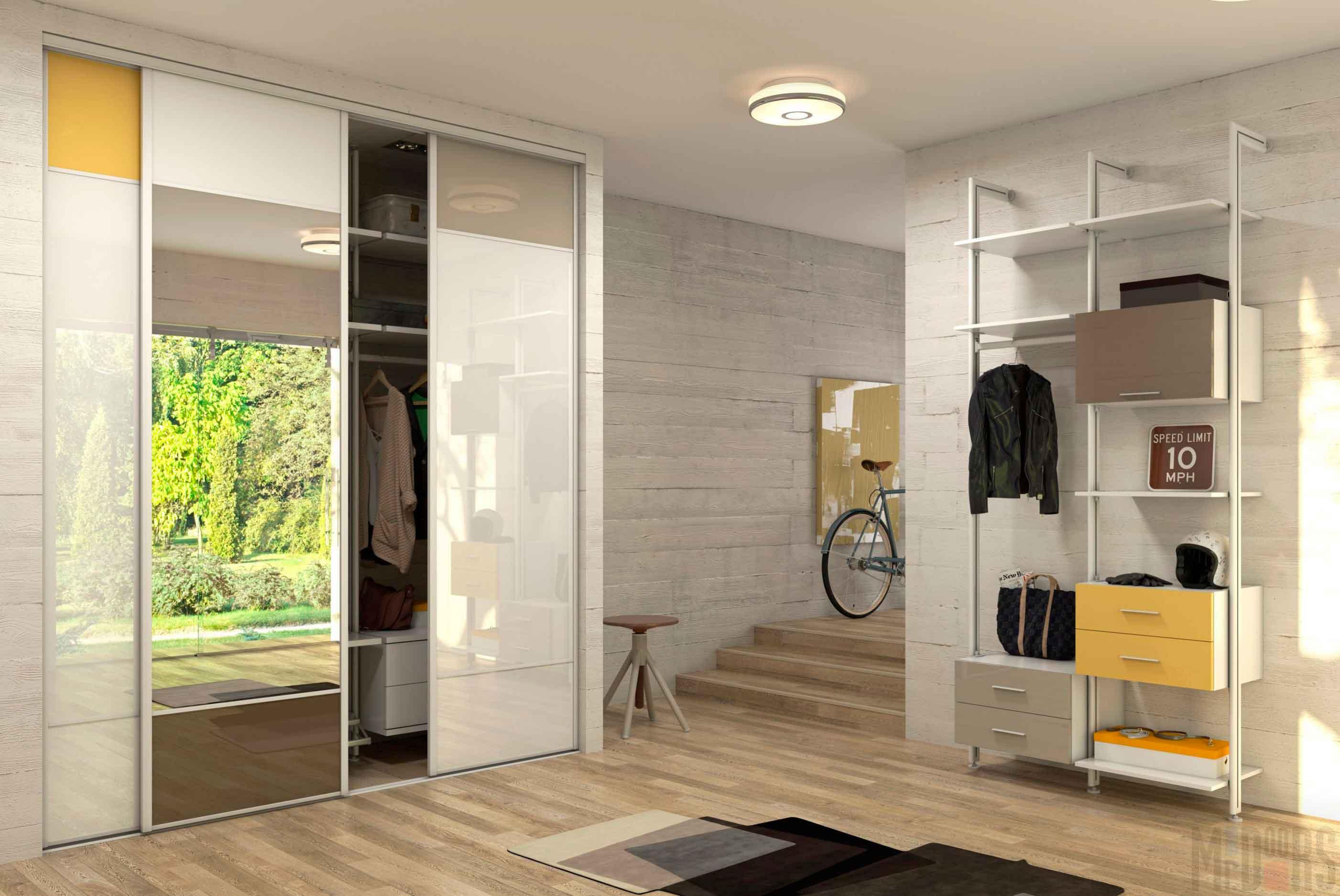 Chambre spacieuse avec de belles finitions