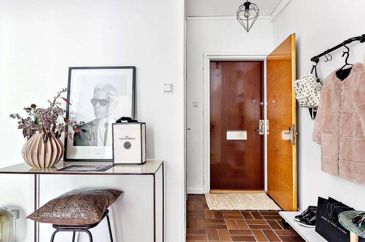 Idées modernes dans l'appartement