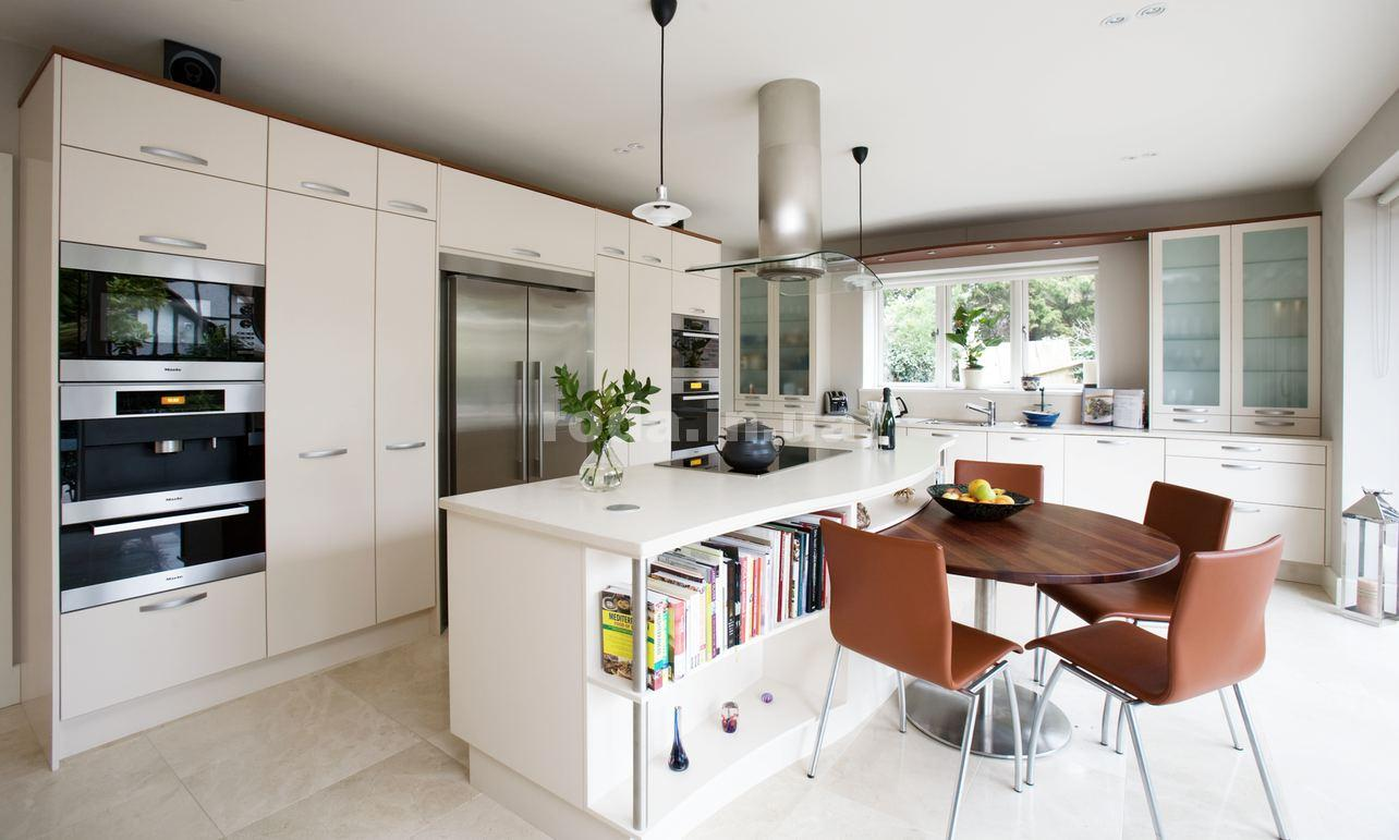 Cuisines blanches modernes