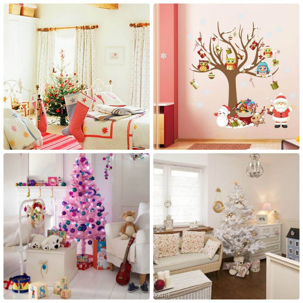 Décorer une chambre pour le nouvel an pour un enfant