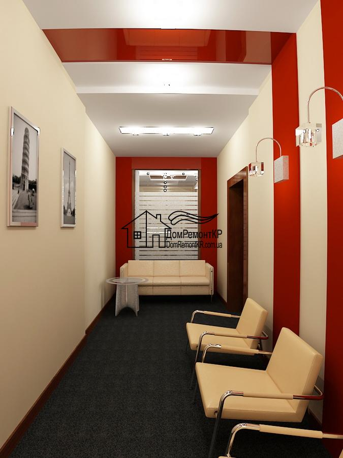 Chambre étroite avec un design agréable